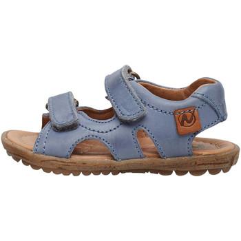 Chaussures Enfant Sandales et Nu-pieds Naturino SKY-Sandale en cuir bleuclair