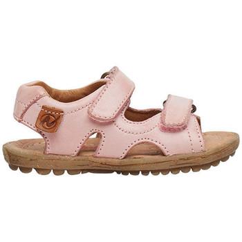 Chaussures Enfant Sandales et Nu-pieds Naturino SKY-Sandale en cuir rose