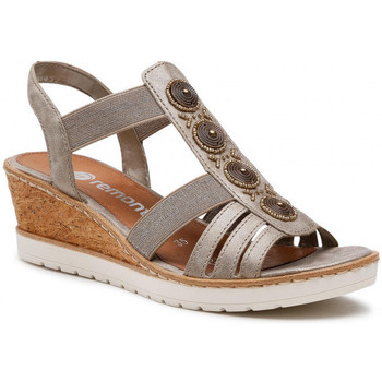 Chaussures Femme Sandales et Nu-pieds Remonte Dorndorf r6256-90 bronze