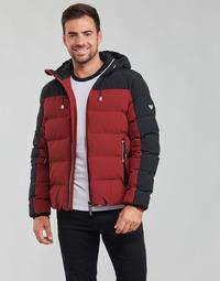 Vêtements Homme Doudounes Emporio Armani EA7 TRAINING CASUAL SPORTY Noir / Rouge