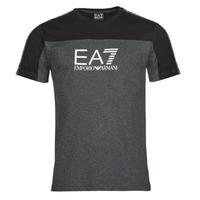 Vêtements Homme T-shirts manches courtes Emporio Armani EA7 TRAIN ATHLETIC Noir