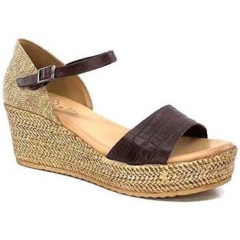 Chaussures Femme Sandales et Nu-pieds Porronet F12650 Marron