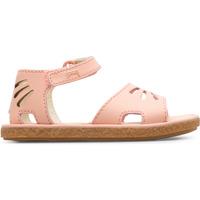 Chaussures Fille Sandales et Nu-pieds Camper Sandales cuir MIKO rose