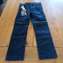 Vêtements Garçon Chinos / Carrots Kaporal Chino Kaporal neuf Bleu