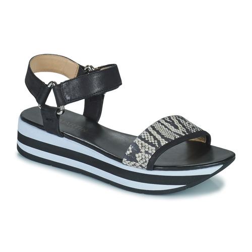 Chaussures Femme Sandales et Nu-pieds JB Martin IMANI NOIR