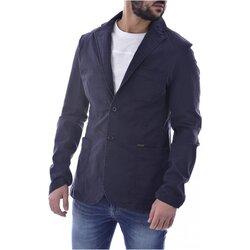 Vêtements Homme Vestes / Blazers Guess M0YN09 WD5M1 Bleu