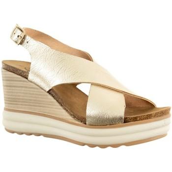 Chaussures Femme Sandales et Nu-pieds Plakton platon oro 03 jaune