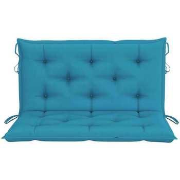 Maison & Déco Coussins Vidaxl Coussin de balancelle 100 cm Bleu