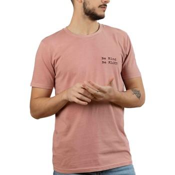 Vêtements Homme T-shirts manches courtes Klout  Rosa