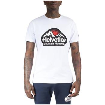 Vêtements Homme T-shirts manches courtes Helvetica Tee-shirt Blanc