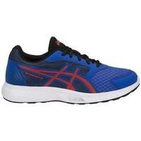 Chaussures Enfant Fitness / Training Asics Stormer GS Rouge, Bleu