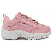 Chaussures Enfant Baskets basses Fila Strada Kids Blanc, Rose