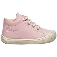 Chaussures Fille Bottines Naturino COCOON-petites chaussures premiers pas en cuir nappa rose