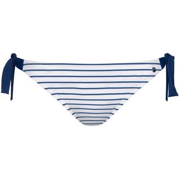 Vêtements Femme Maillots de bain séparables Lisca Bas maillot slip de bain à nouettes Puerto Rico Bleu Marine