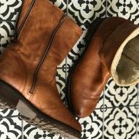 Chaussures Femme Boots Minelli PIEDS BIEN AU CHAUD Marron