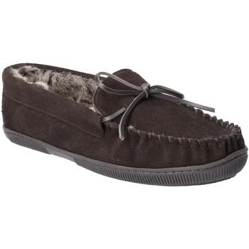 Chaussures Homme Chaussons Hush puppies  Marron foncé