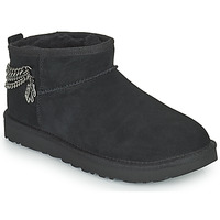 Chaussures Femme Boots UGG Classic Ultra Mini Chains Noir