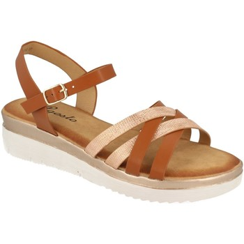 Chaussures Femme Sandales et Nu-pieds Tephani TF2202 Camel