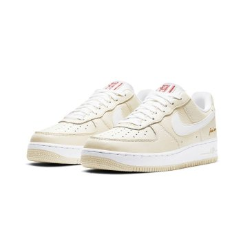 Chaussures Baskets basses Nike Air Force 1 Low Popcorn Coconut Milk/White-University Red
