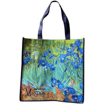 Sacs Sacs Bandoulière Muzeum Sac pour les courses Van Gogh - Iris 40 x 40 cm Bleu