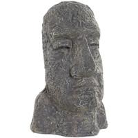 Maison & Déco Statuettes et figurines Zen Et Ethnique Pettite Statuette MOAI Gris