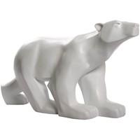 Maison & Déco Statuettes et figurines Muzeum Statue L'ours Blanc de François Pompon 65 cm Blanc