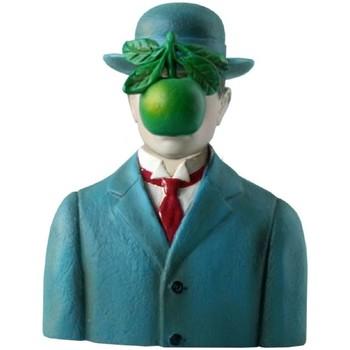 Maison & Déco Statuettes et figurines Muzeum Statuette de collection Magritte - Le fils de l'homme Bleu