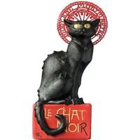Maison & Déco Statuettes et figurines Le Chat Noir Statuette en résine Noir