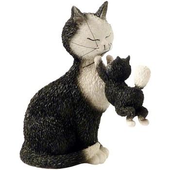 Maison & Déco Statuettes et figurines Les Chats De Dubout Statuette Les chats par Dubout Noir
