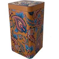 Maison & Déco Paniers, boites et corbeilles Zen Et Ethnique Boite métallique pour le thé ou le café Fireflower Orange
