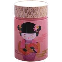 Maison & Déco Paniers, boites et corbeilles Zen Et Ethnique Petite boite Little Geisha pour le thé Contenance 150 gr Rose