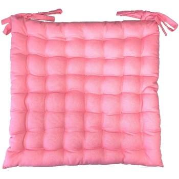 Maison & Déco Coussins Retro Assise de chaise matelassée en coton rose Rose