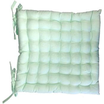 Maison & Déco Coussins Retro Assise de chaise matelassée en coton vert pastel Vert