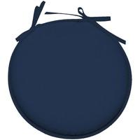 Maison & Déco Coussins Retro Galette de chaise Bleu Pétrole ronde en polyester Bleu