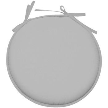 Maison & Déco Coussins Retro Galette de chaise ronde en polyester Gris Gris