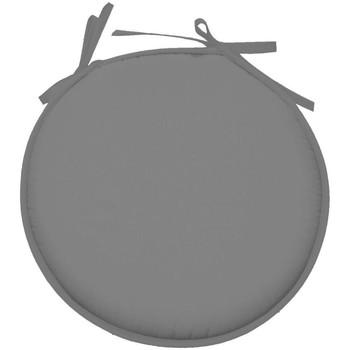 Maison & Déco Coussins Retro Galette de chaise ronde en polyester Gris Souris Gris