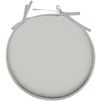Maison & Déco Coussins Retro Galette de chaise ronde en polyester Mastic Gris