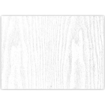 Maison & Déco Stickers Retro Rouleau Sticker Bois blanc -  45 x 150 cm Blanc