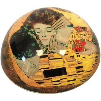 Maison & Déco Statuettes et figurines Muzeum Presse papier Klimt - Le baiser Jaune