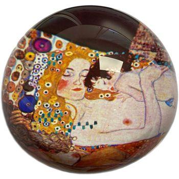Maison & Déco Statuettes et figurines Muzeum Presse papier Klimt - Les trois phases de la vie de la femme Jaune
