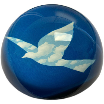 Maison & Déco Statuettes et figurines Muzeum Presse papier L'oiseau de Ciel par Magritte Bleu