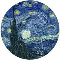Maison & Déco Statuettes et figurines Muzeum Presse papier La Nuit étoilée de Van Gogh Bleu
