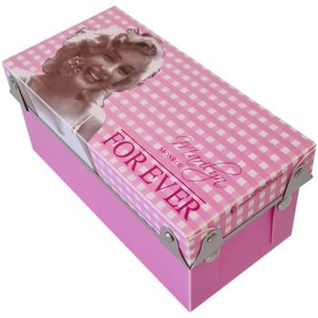 Maison & Déco Paniers, boites et corbeilles Marilyn Monroe Petite boîte Rose