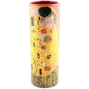 Maison & Déco Vases, caches pots d'intérieur Muzeum Vase en céramique Allongé Klimt - Le Baiser Jaune