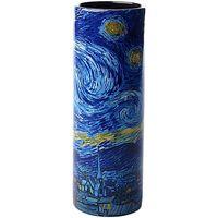 Maison & Déco Vases, caches pots d'intérieur Muzeum Vase en céramique Allongé Van Gogh - Nuit étoilée Bleu