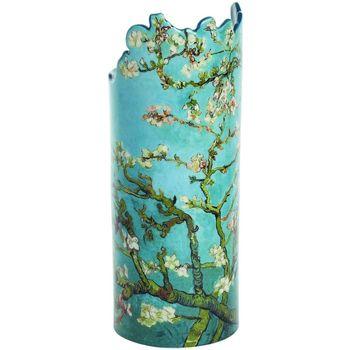 Maison & Déco Vases, caches pots d'intérieur Muzeum Vase en céramique silhouette Van Gogh - Blossom Bleu