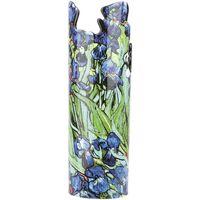 Maison & Déco Vases, caches pots d'intérieur Muzeum Vase en céramique silhouette Van Gogh - Les Iris Bleu