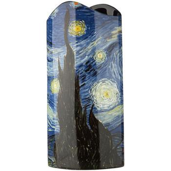 Maison & Déco Vases, caches pots d'intérieur Muzeum Vase en céramique silhouette Van Gogh - Nuit étoilée Blanc