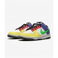 Chaussures Baskets basses Nike Dunk Low Green Strike Multi-Color/Multi-Color
