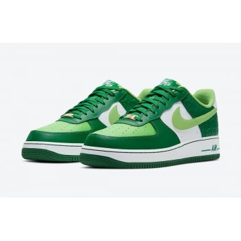 Chaussures Baskets basses Nike Air Force 1 Low St Patricks Day White/Green